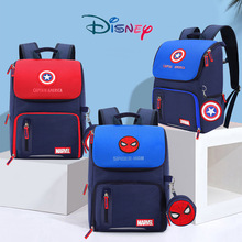 Marvel Spider-Man Iron Man Captain America Baby Backpack Minnie Mickey Baby Boy/Girl Backpack Kids S