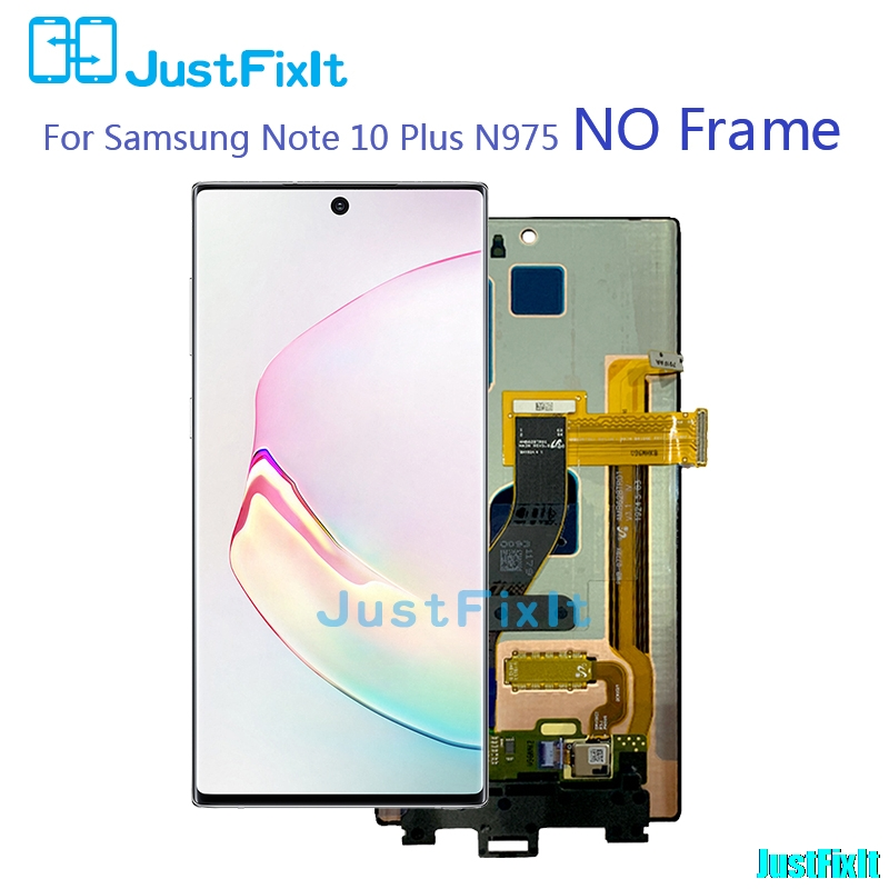 Image 2 - Original For Samsung Galaxy Note 10 /Note 10plus/Note 10+/Note 10 pro Lcd with Frame Display Touch Screen Digitizer Assembly -in Mobile Phone LCD Screens from Cellphones & Telecommunications