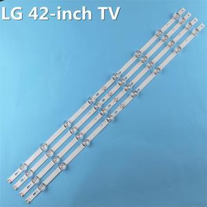 Image 5 - 8 stücke x Led hintergrundbeleuchtung Lampe Objektiv streifen für LG 42LY320C LC420DUE INNOTEK DRT 3,0 42 inch TV 42LB5610 42GB6310 LCD Monitor