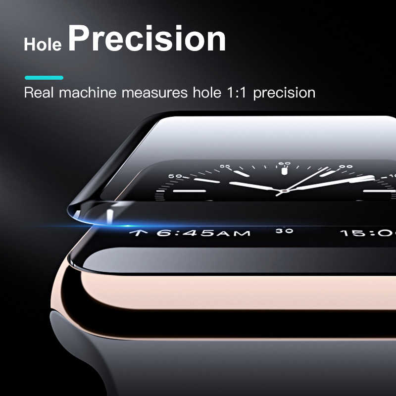 20D HD protector de vidrio para Apple Watch Serie 3 2 1 42MM 38MM de cristal para Apple vidrio de reloj IWatch 5 4 44MM 40MM protector de pantalla