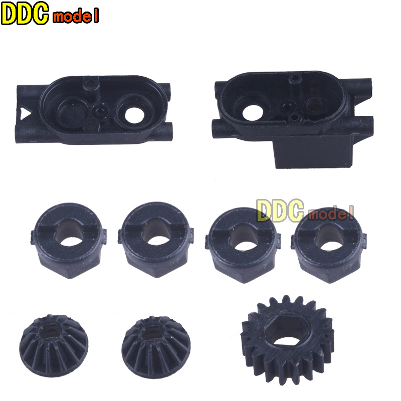 <font><b>HBX</b></font> <font><b>parts</b></font> 24969 Front /Rear Pinion Gears Motor Pinion gear Centre Gear Box <font><b>2098B</b></font> image