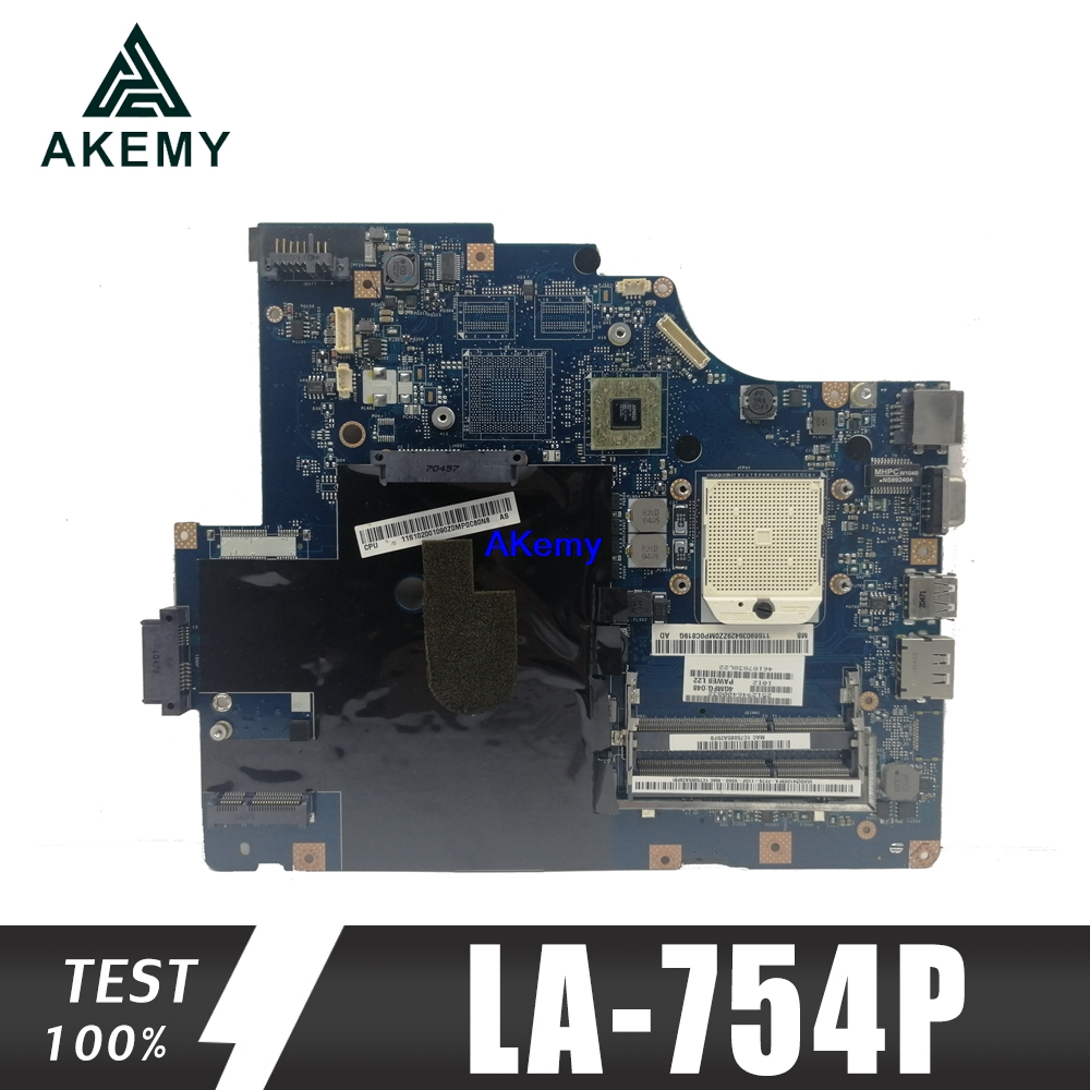 LA-754P Motherboard For Lenovo G560 Z560 Laptop Motherboard Z560 Motherboard ( Without HDMI Port ) Test Mainboard