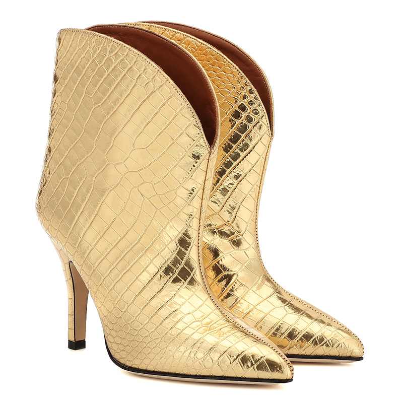 gold ankle boots (4)