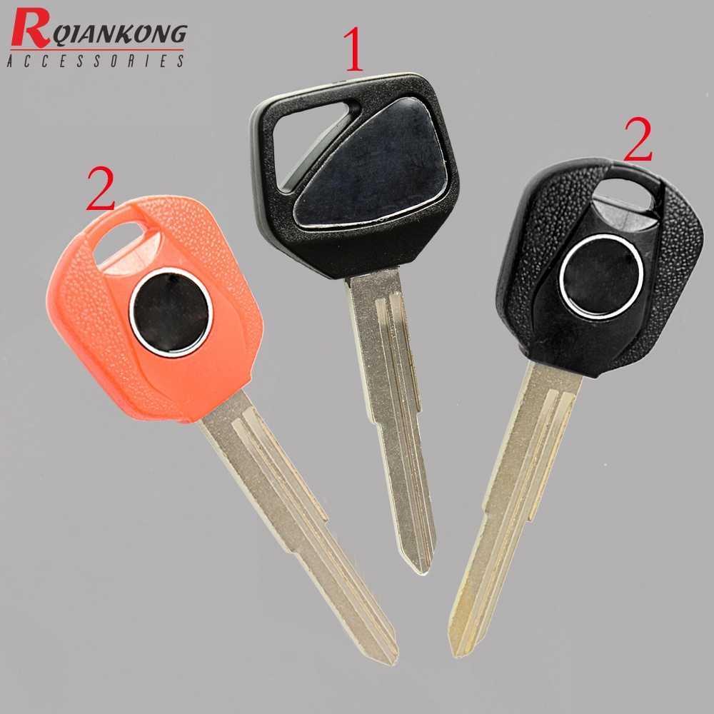 กุญแจรถจักรยานยนต์ตัวอ่อน BLANK Key ชิป Uncut พวงกุญแจ CBR600RR CBR 900RR 929RR 954RR 1000RR VTR1000 F5 CB400 VTEC 1- 4 th CB1300