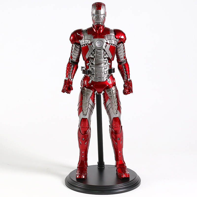 Crazy Toys Marvel Iron Man MK5 MARK V 1/6th Scale PVC Figure Collectible Model Toy