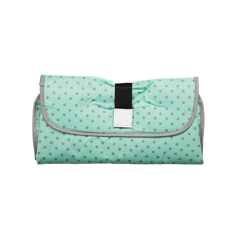Новые 3 в 1 Водонепроницаемый пеленальный коврик пеленки мнчества, Портативный чехол для детских подгузников коврик чистой ручной складной сумка из узорчатой ткани - Цвет: CPD001