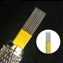 2019 Professional Microblading Blades All Size of Needles for Eyebrow Permanent Makeup Tattoo Needle
