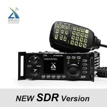 2019 أحدث XIEGU G90 QRP HF هواة جهاز الإرسال والاستقبال اللاسلكي 20 W SSB/CW/AM/FM 0.5 30 MHz هيكل SDR مع المدمج في السيارات هوائي موالف