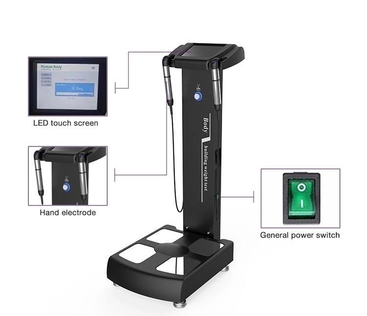 2020 Advanced Technology body fat analyzer/body composition analyzer/body element analyzer Machine CE/DHL