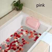 21*31cm spa banho travesseiro casa banheira travesseiro pvc pescoço banheira almofada macio encosto de cabeça ventosa banheira travesseiro acessórios 1pcs