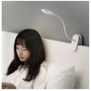 Image 3 - YEELIGHT Clip on Table Lamp LED student read desk lamp study table light Portable bending Bedside night light USB charging