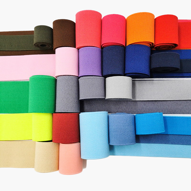 20/25/30/40/50mm Rubber Band Fold Over Elastic Band  For Underwear Pants Bra Rubber Clothes Adjustable Soft Waistband Elastic