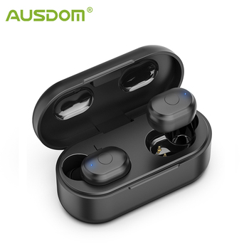 AUSDOM TW01 TWS Earbuds Wireless Bluetooth Earphone 20H Play Time CVC8.0 Noise Cancelling Sport Wireless Headphone With Dual Mic
