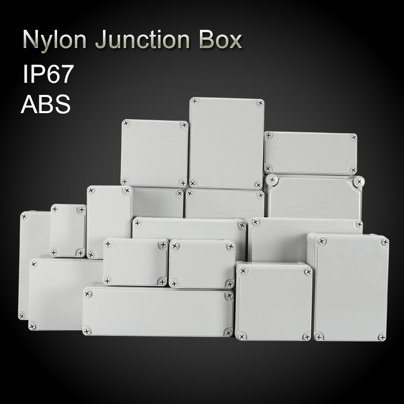 95*65*55 100*100*75 110*<font><b>80</b></font>*<font><b>50</b></font> 110*<font><b>80</b></font>*85 Outdoor Electrical CCTV Enclosure Case ABS Plastic Waterproof Nylon Junction <font><b>Box</b></font> image