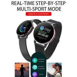 Image 2 - LEMDIOE frauen mens smart watch wasserdicht ip67 herz rate monitor multiply sport modus austauschbare strap paar uhr smart
