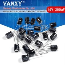 50 adet yüksek kaliteli 16V220UF 6*7mm 220UF 16V 6*7 elektrolitik kondansatör