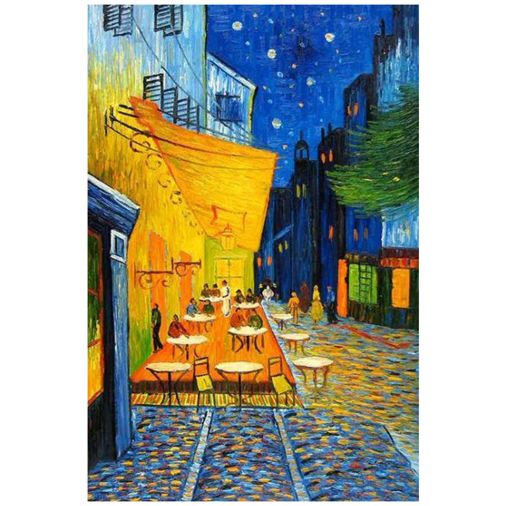 DIY Vincent Willem van Gogh night sky in the picture 5D Diamond painting kit Art Picture Craft Home Decor