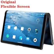 "Stock Original Royole FlexPai Foldable Mobile Phone Octa-Core 6GB+128GB 7.8"" Flexible AMOLED Screen Snapdragon 855 Smartphone"