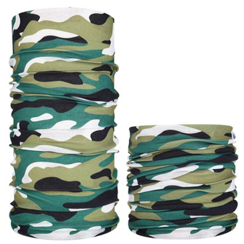 Military Army Camouflage Series Pattern Bandanas Sports Ride Bicycle Motorcycle Turban Magic Headband Veil Scarf