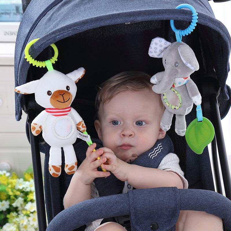 Baby rasselt Kinderwagen hängen Stofftier mobiles Bett niedlichen - Baby und Kleinkind Spielzeug - Foto 6