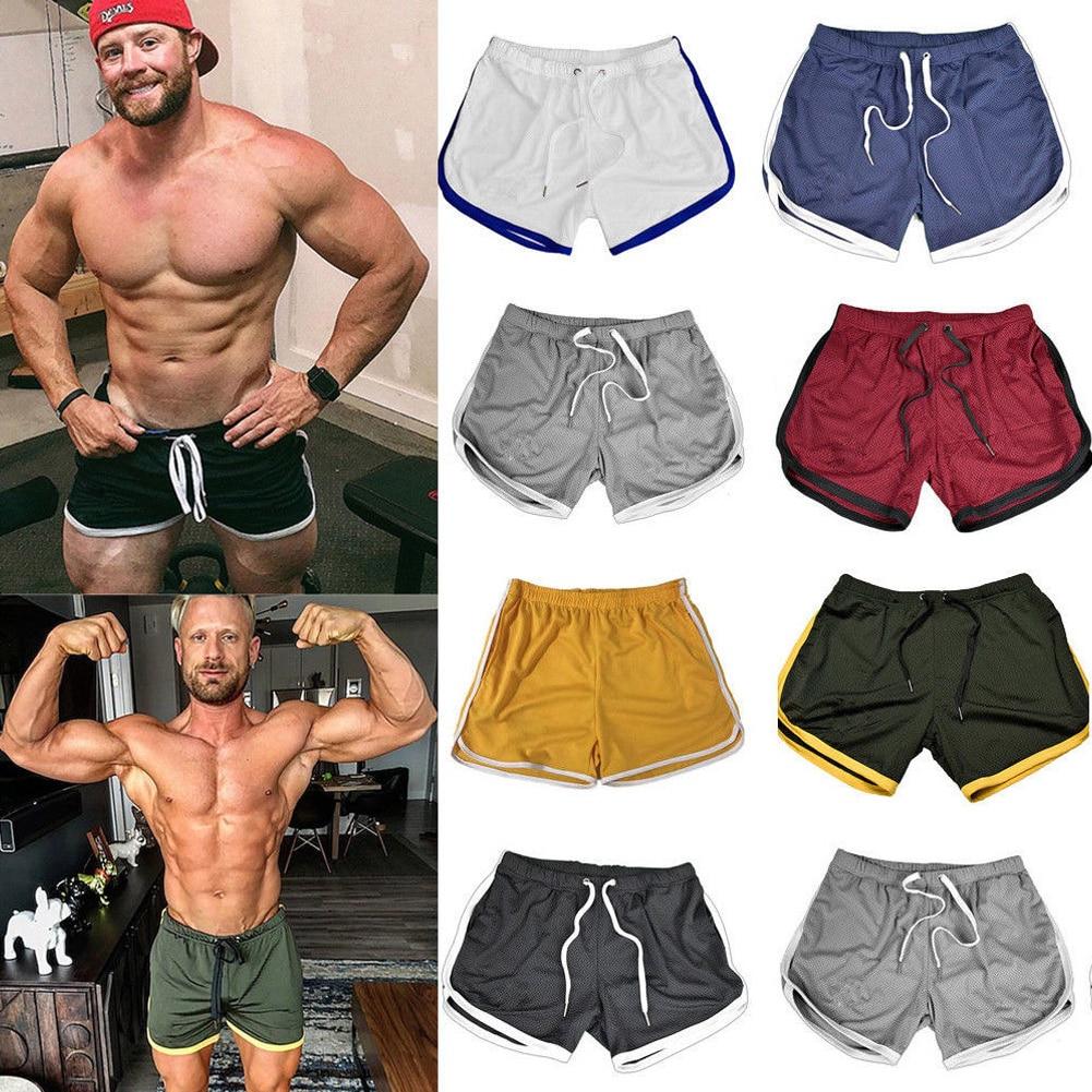Shorts respirants à séchage rapide pour hommes, vêtements de nuit, de Sport, de course, de plage, été