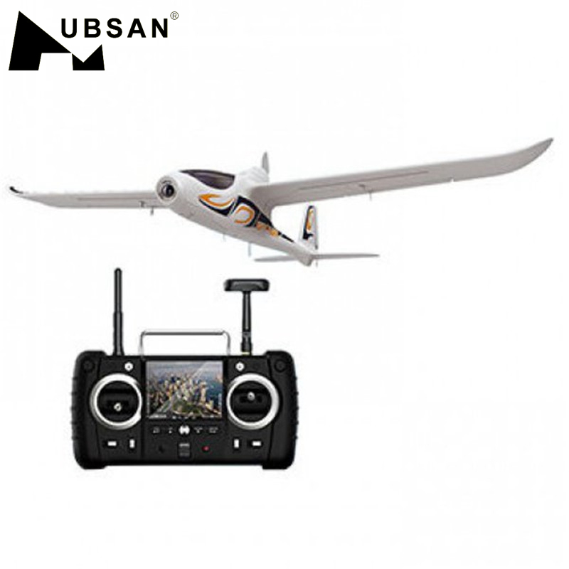Hubsan H301S HAWK 5.8G FPV 4CH RC Airplane RTF With LED Light GPS Camera Module Mode 1/2 VS Volantex V757-6 V757-3 WL F959 Toys