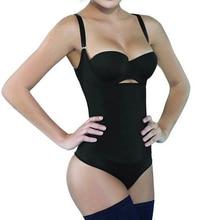 Burvogue Latex Body Shaper Waist Slimming Shapewear for Women Waist Control Underbust Zipper Body Shaper Sexy Underwear Bodysuit
