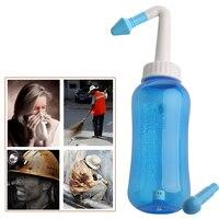 Sistema de lavagem do nariz sinus & alergias alívio pressão nasal enxaguamento neti pot u50f Aspirador nasal     -