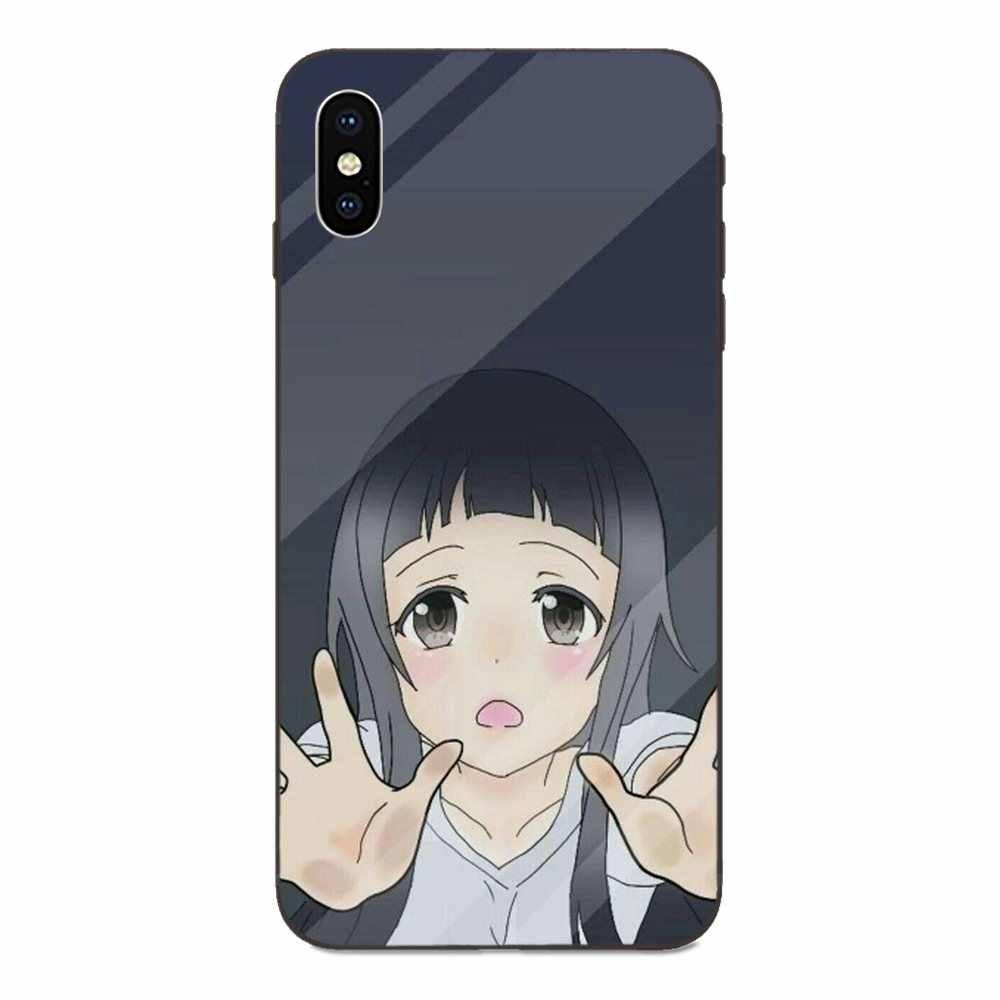 Защитный чехол из ТПУ в стиле аниме для huawei nova 2 2S 3i 4 4e 5i Y3 Y5 II Y6 Y7 Y9 Lite Plus Prime Pro 2017 2018 2019