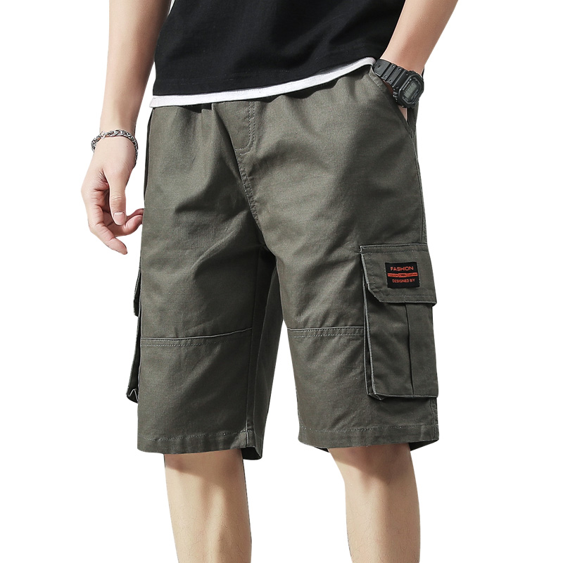 Mens Military Cargo Shorts Army Camouflage Tactical Shorts Men Cotton Loose Work Casual Short Pants Plus Size 2019 New CC50DX16