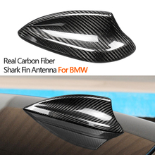 True Carbon Fiber Shark Fin Antenna Cover For BMW E90 E92 F20 F21 F30 F10 F22 F15 F16 G30 G20 G01 G11 X4 X5 X6 Accessories
