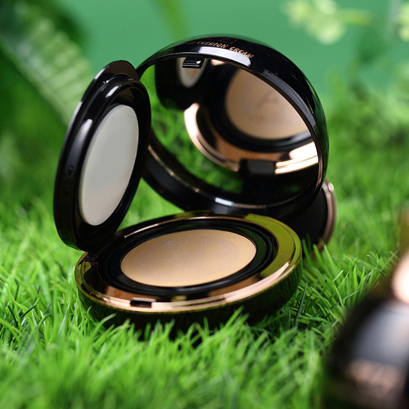 Hot Air Cushion BB Cream Whitening Concealer Oil Control Natural Make Up with Mushroom Puff CNT 66 image