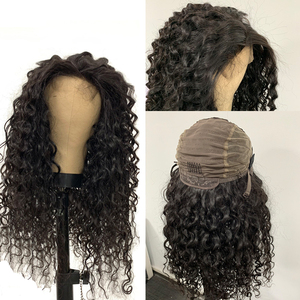 Image 2 - Water Wave 13x4 Lace Frontal Wigs Brazilian 4x4 Lace Closure Wig Addbeauty 180% 250% Pre Plucked Hairline Human Virgin Hair Wigs