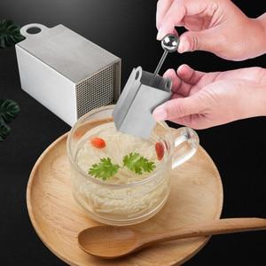 Image 2 - Chrysanthemum Tofu Flower maker press mold Stainless Steel Knife Tofu pressed DIY Cutting Mold  Kitchen Tools Kitchen Appliances