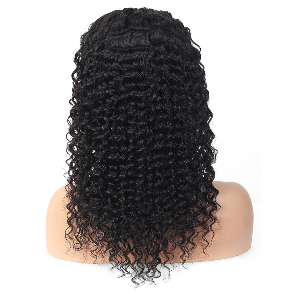 Jerry Curl Wig Lace Front Wig Short Curly Lace Front  Wigs Pre Plucked 13X4 Lace Wigs  3