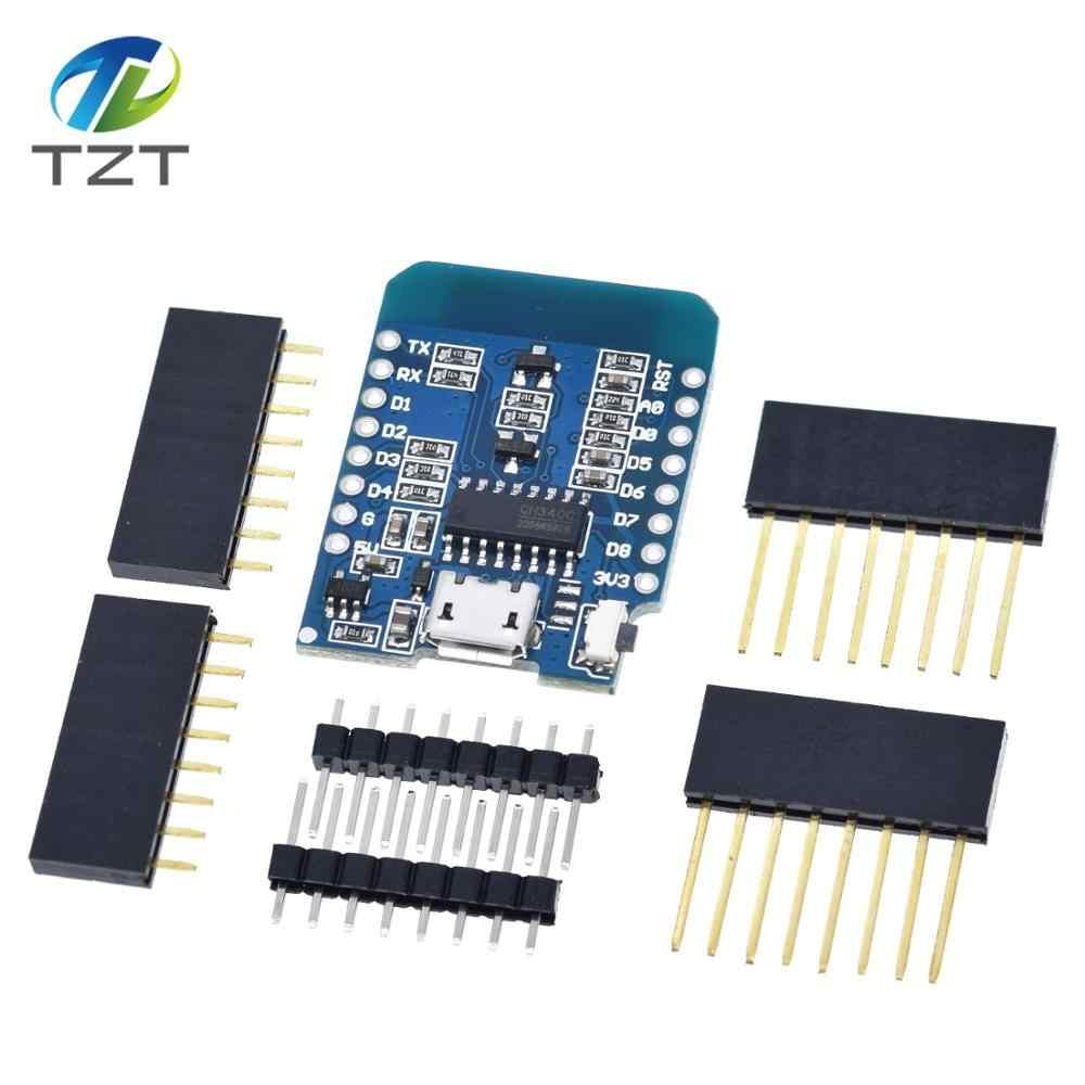 ESP8266 ESP-12 ESP-12F CH340G CH340 V2 USBสำหรับWeMos D1 Miniบอร์ดพัฒนาWIFI D1 Mini NodeMCU Lua IOT Board 3.3Vพร้อมPins