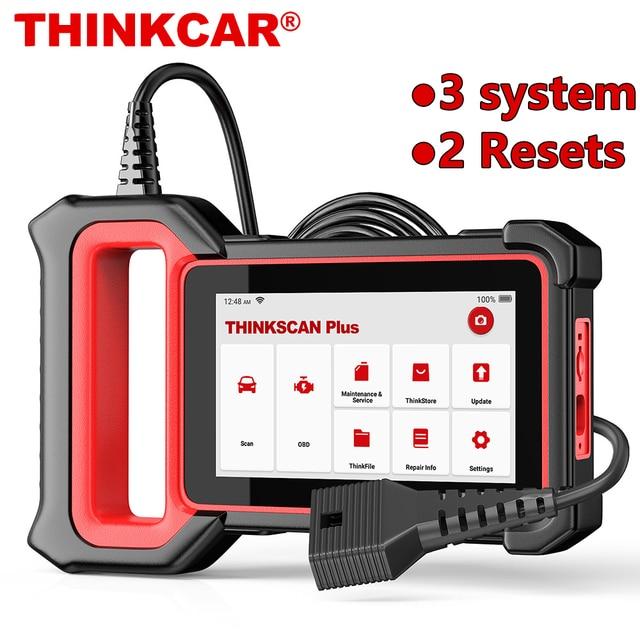 THINKCAR Thinkscan Plus S2 OBD2 Diagnose Werkzeuge ABS Airbag Motor System Öl EPB DPF SAS TPMS AFS Reset Auto Scanner automotive