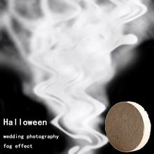 Creative 10 Pcs/set White Smoke Pills Halloween Props Combustion Smog Cake Effect Bomb Portable Photography New
