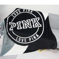 Tricoté gris noir rayé mince jeter couvertures Manta corail flanelle couverture canapé/canapé lit/avion voyage Plaids été TV couverture|Couvertures| |  -