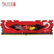 JAZER-Memoria Ram Ddr3 con disipador de calor, módulo de Memoria Ram de escritorio, 1333mhz, 1600Mhz, 4Gb/8Gb, Ddr3, Pc3-12800