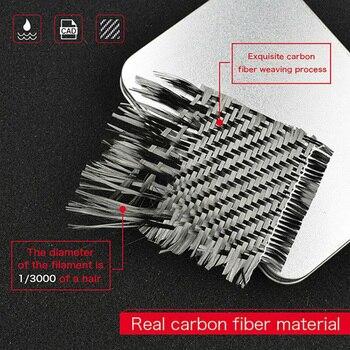 Car Door Handle trim Auto Carbon Fiber For Infiniti Q50 14-19 Accessories