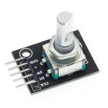 1 шт. 360 градусов Поворотный модуль кодировщика Кирпич Датчик переключатель развития KY-040