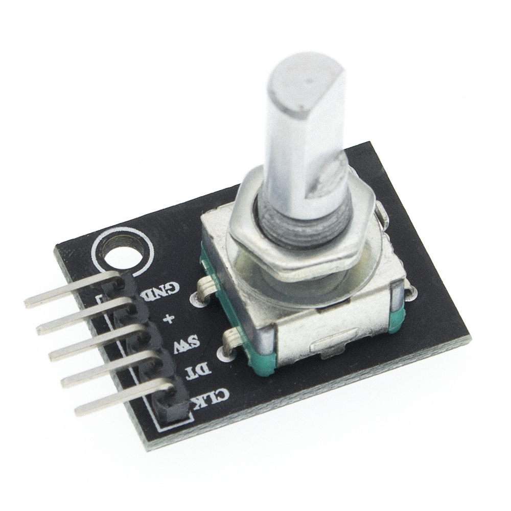1pcs 360 Degrees Rotary Encoder Module Brick Sensor Switch Development KY-040
