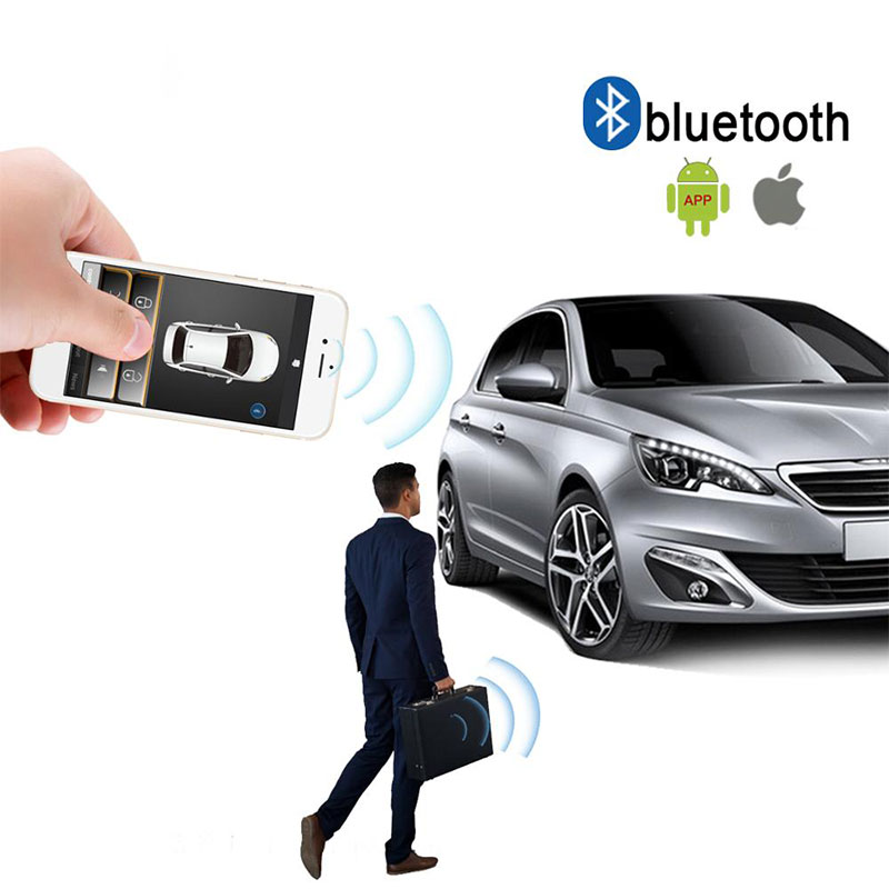 car alarm auto-signaling tomahawk Automatic Trunk Opening keyless entry system central locking car remote central locking <font><b>MP686</b></font> image