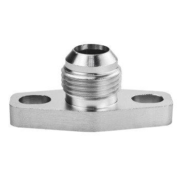 Adaptador de drenaje de aceite para Turbo Outlet adaptador de pestaña AN10...