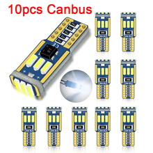 10pc T10 Led Canbus W5W Led-lampe Auto Innen Licht 9led 4014smd 194 168 Kein Fehler Lesen Dome Licht instrument Platte Lampe 6000K cheap LYMOYO CN (Herkunft) Abstands-Lichter 2600lm T10 (W5W 194) WHITE 0 02 Allgemeinhin T10 W5W 1 5W Light Sourcing Wide Reading Car license plate Dome light Door Tail lights