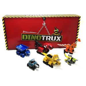 Image 5 - Dinosaur Truck Removable Dinosaur Toy Car for Dinotrux Mini Models New Childrens Gifts Toy Dinosaur Models mini child Toys