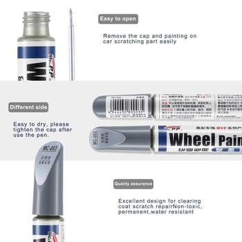 Car Auto Scratch Filler Repair Cover Pen Waterproof Tire Wheel Paint Repair Marker Pen Non-Toxic Car Paint Refresh image