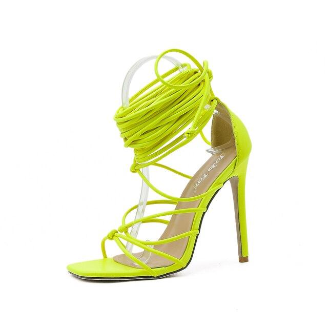GENSHUO Summer Women Sandals 9