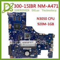 KEFU NM-A471 carte mère pour LENOVO 300-15IBR ordinateur portable carte mère BMWC1/BMWC2 NM-A471 N3050 CPU 920M 1G GPU testé 100% travail